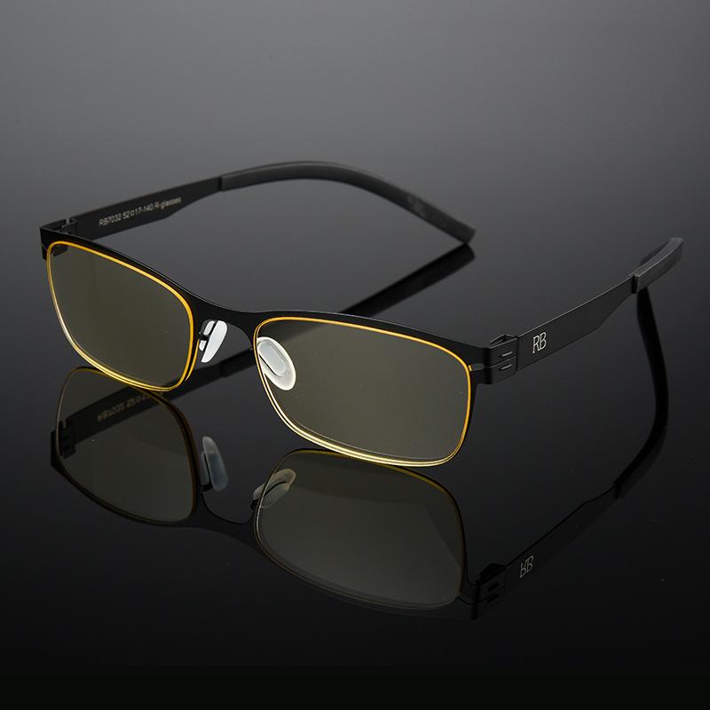 KCASA 50% Anti Blue Ray Presbyopic Lens Reading Glasses Anti-radiation Germany Technology