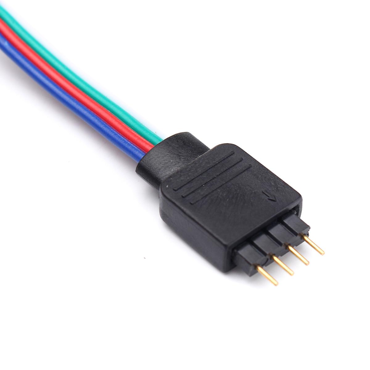 DC5V Non-waterproof USB RGB 5050  LED Strip TV Backlight Kit + 17 Keys Remote Control