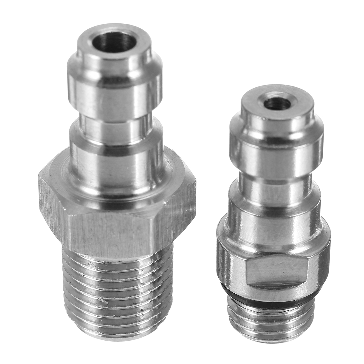 M8x1 0 Threads PCP Fill Nipple Stainless Steel 8mm Air Tank One Way Foster  Fitting Screwed Joint