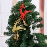 Christmas Tree Ornaments Reindeer Deer Elk Hanging Christmas Baubles Home Party Decor Gift