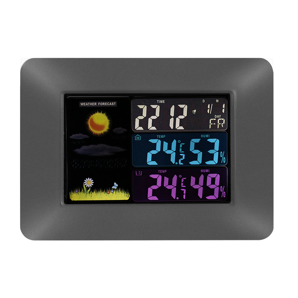 weather forecast clock 3210 manual