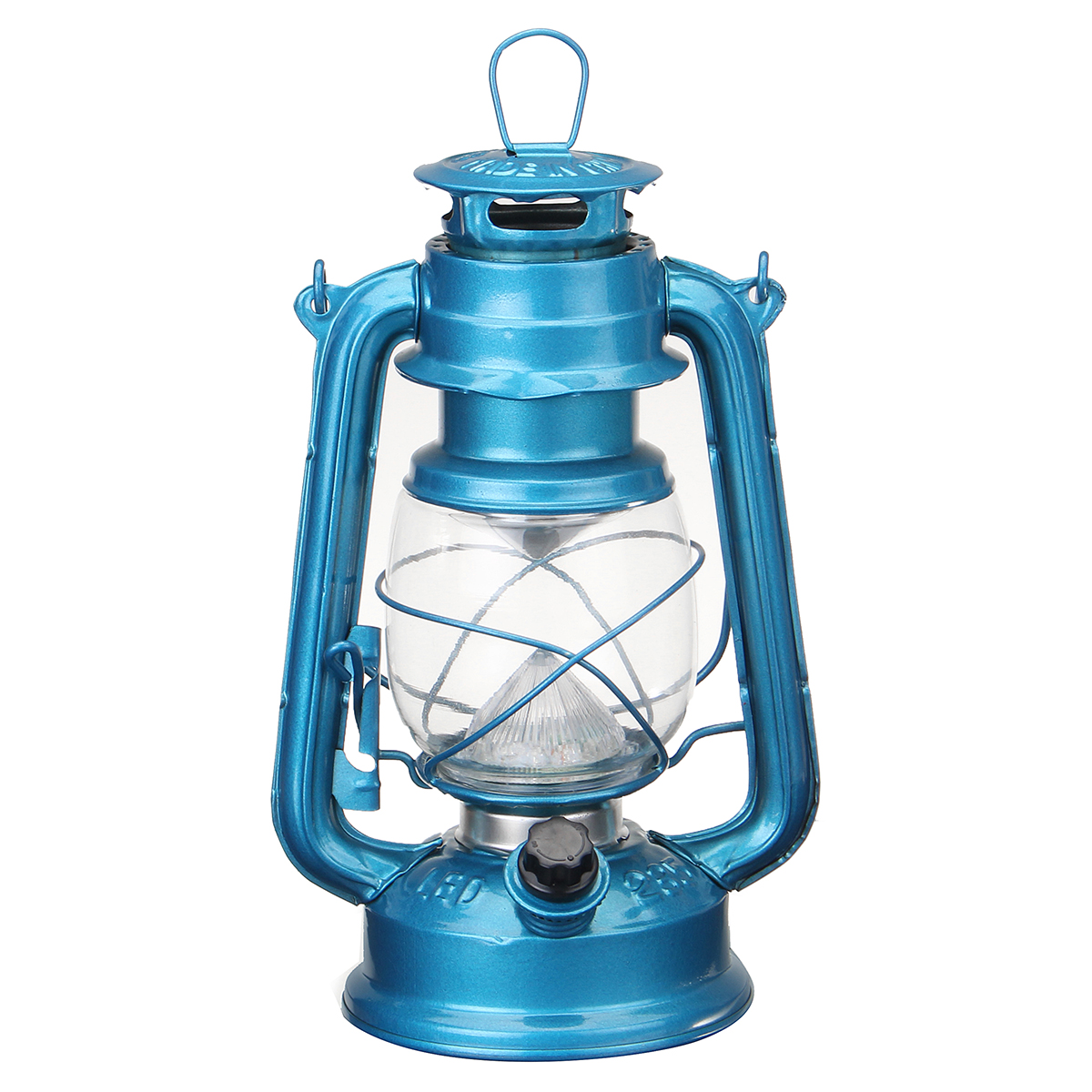 Vintage Style 15 Led Lantern Battery Operated Indoor Outdoor Camping Fishing
