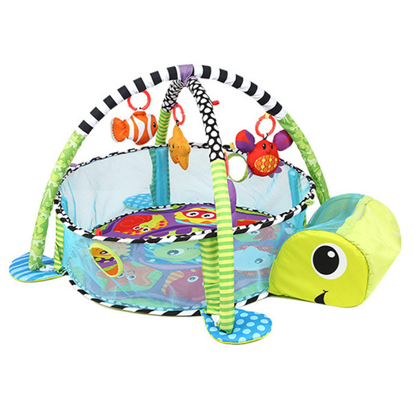 Baby Toy Rug: Infant Toddler Baby Play Set Activity Gym Playmat Floor