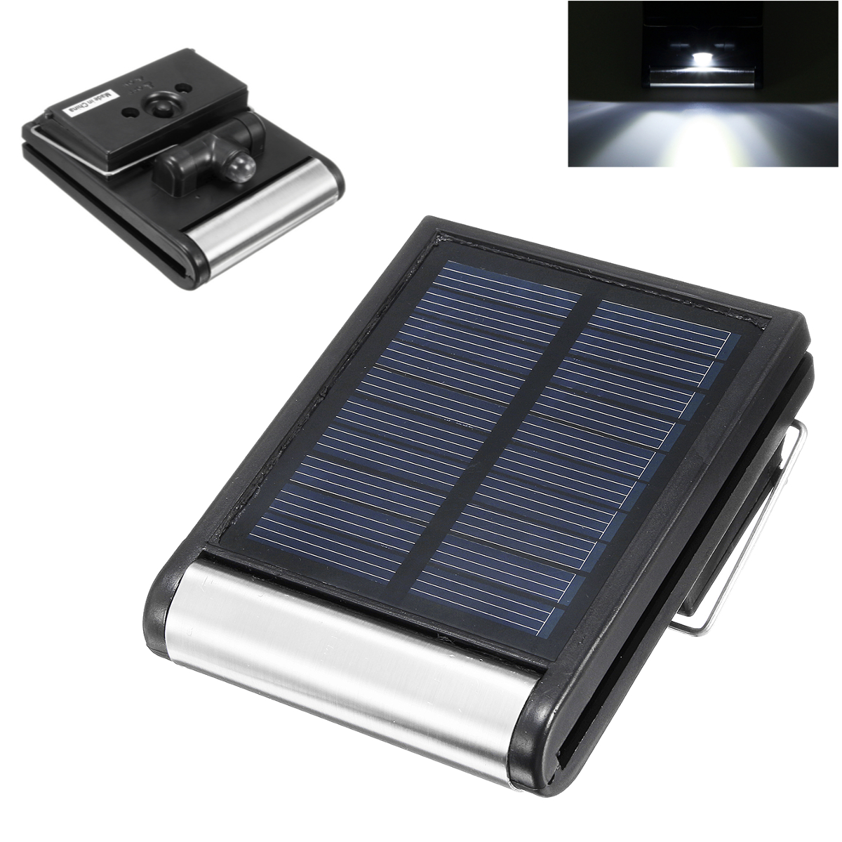Outdoor Lights Portable: Waterproof Portable Outdoor Camping Solar Light Emergency