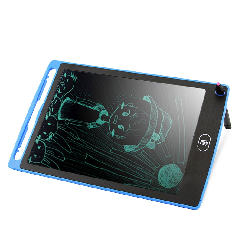 CHUYI Portable 8.5 inch LCD Writing Tablet Drawing Graffiti Electronic Handwriting Pad Message Graphics Board Draft Paper with Writing Pen, CE / FCC / RoHS Certificated (Blue)