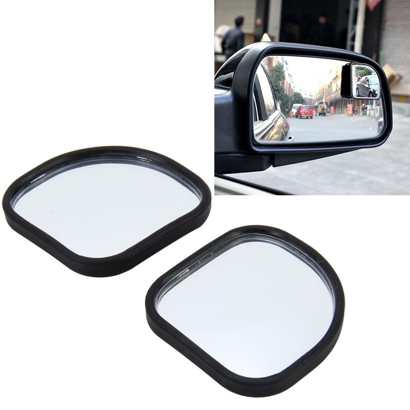 3R-065 2 PCS Car Truck Blind Spot Rear View Wide Angle Mirror Blind Spot Mirror Blind Spot and Deco Mirror