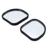 3R-065 2 PCS Car Truck Blind Spot Rear View Wide Angle Mirror Blind Spot Mirror Blind Spot and Deco Mirror