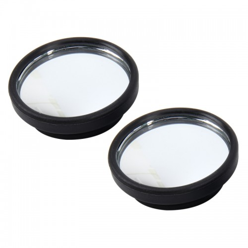 3R-061 2 PCS Car Truck Blind Spot Rear View Wide Angle Mirror Blind Spot Mirror Blind Spot and Round Mirror