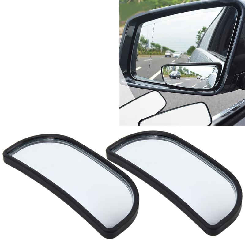 3R-066 2 PCS Car Truck Blind Spot Rear View Wide Angle Mirror Blind Spot Mirror Blind Spot and Wide Mirror