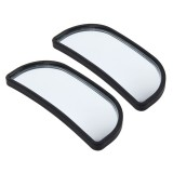 3R-066 2 PCS Car Truck Blind Spot Rear View Wide Angle Mirror Blind Spot Mirror Blind Spot and Wide Mirror