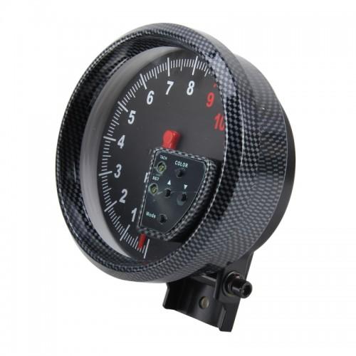 12V 10 Colors 5 inch 120mm Performance Instrumentation Universal Auto Meter Gauge Tachometer Rpm Gauge Meter Tachometer Hi-performance Auto Gauge Racing Car Meter