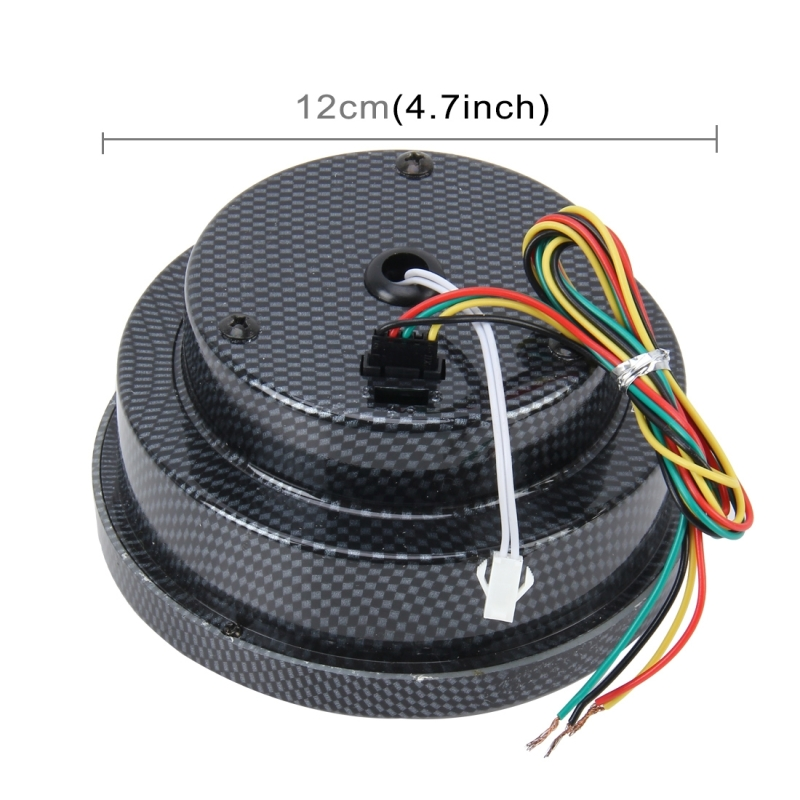 12V 10 Colors 5 inch 120mm Performance Instrumentation Universal Auto Meter Gauge Tachometer Rpm Gauge Meter Tachometer Hi-performance Auto Gauge Racing Car Meter