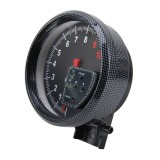 DC 12V 10 Colors 5 inch 120mm Performance Instrumentation Universal Auto Meter Gauge Oil Temp Gauge Auto Gauge Racing Car Meter