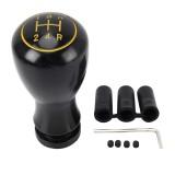 Universal Car Gear Shift Knob Modified Car Gear Shift Knob Auto Transmission Shift Lever Knob Gear Knobs (Black)