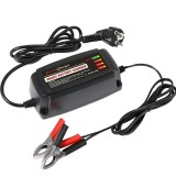 12V Intelligent Automatic Battery Charger Smart Battery Charger Power Charger AC EU/UK/US Plug
