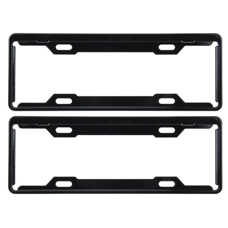 2 PCS Carbon Lead License Plate Frame Simple and Beautiful Car License Plate Frame Holder Universal  sc 1 st  Alexnld.com & 2 PCS Carbon Lead License Plate Frame Simple and Beautiful Car ...