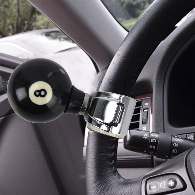 Automobiles & Motorcycles Designed For Auto Car Truck Steering Wheel Aid Power Handle Spinner Knob Alloy