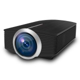 YG510 1200 LUX 800*480 LED Projector HD Home Theater, Support HDMI & VGA & AV & TF & USB