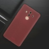 MOFI Huawei Mate 10 Pro Ultra-thin TPU Soft Frosted Protective Back Cover Case (Wine Red)