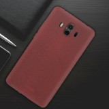 MOFI Huawei Mate 10 Ultra-thin TPU Soft Frosted Protective Back Cover Case (Wine Red)
