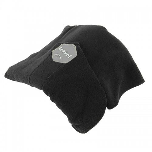 Portable Airplane Travel U-shaped Pillow Nap Time Neck Pillow (Black)