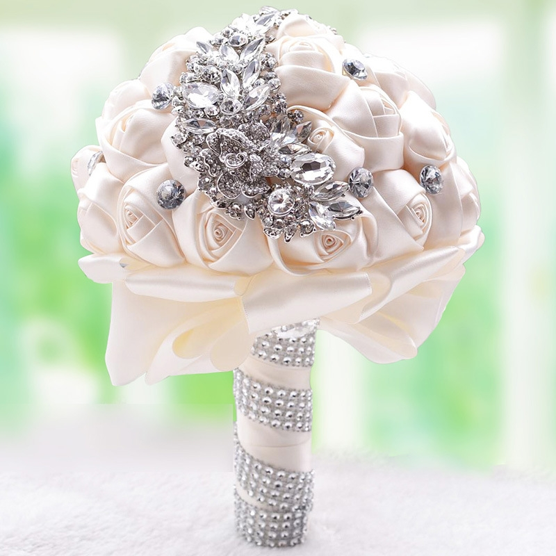 Wedding Flowers For Bridal Party: Wedding Holding Flowers Bridal Bouquet Accessories