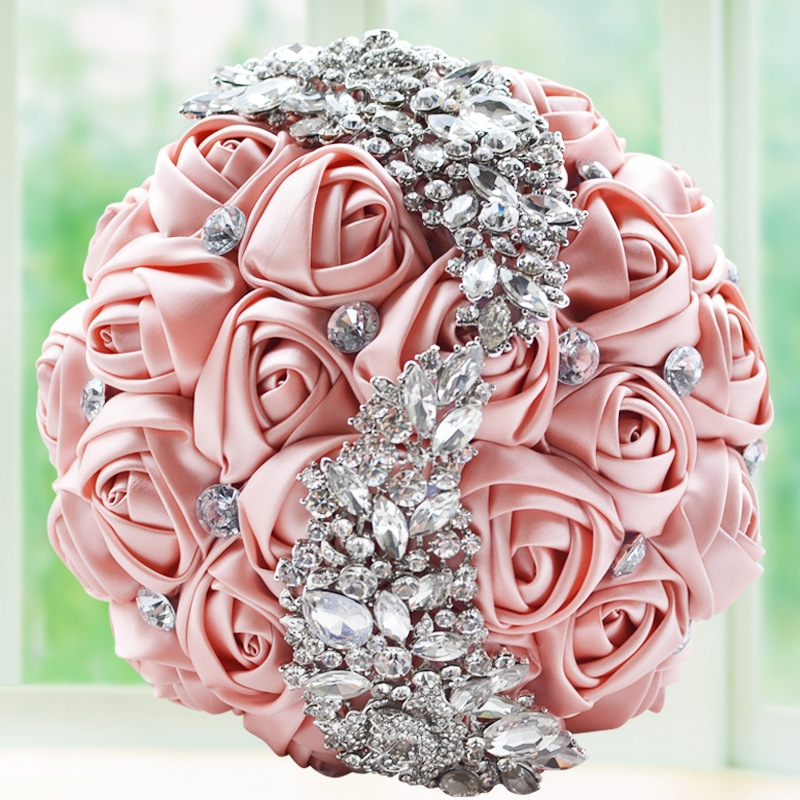 Wedding Holding Flowers Bridal Bouquet Accessories Bridesmaid
