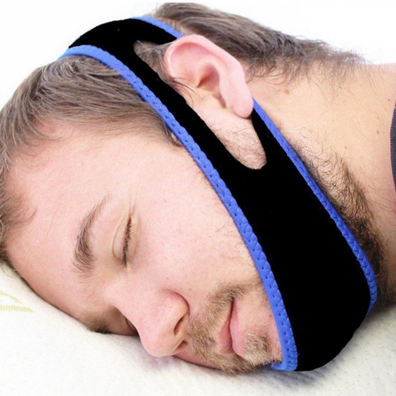 5 PCS Relcare Anti Snore Stop Snoring Belt Chin Support Straps