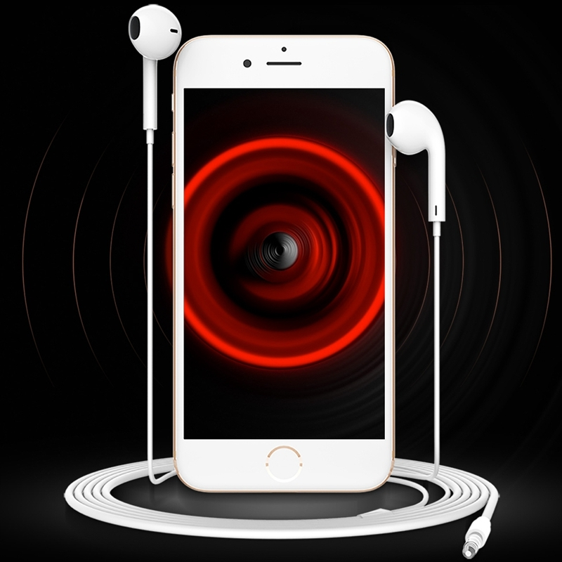 TOTUDESIGN Yao Series AUL12 in Ear HiFi Wired Earphone with Mic & Line Control, Cable Length: 1.2m, For iPhone X / iPhone 8 & 8 Plus / iPhone 7 & 7 Plus / iPhone 6 & 6s & 6 Plus & 6s Plus / iPad