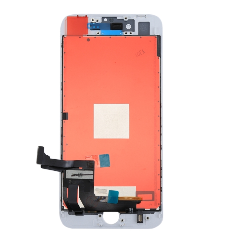 Replacement 3 in 1 for iPhone 8 Plus (LCD (AUO) + Frame + Touch Pad) Digitizer Assembly (White)