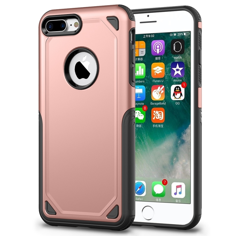 iphone 8 case gold shockproof