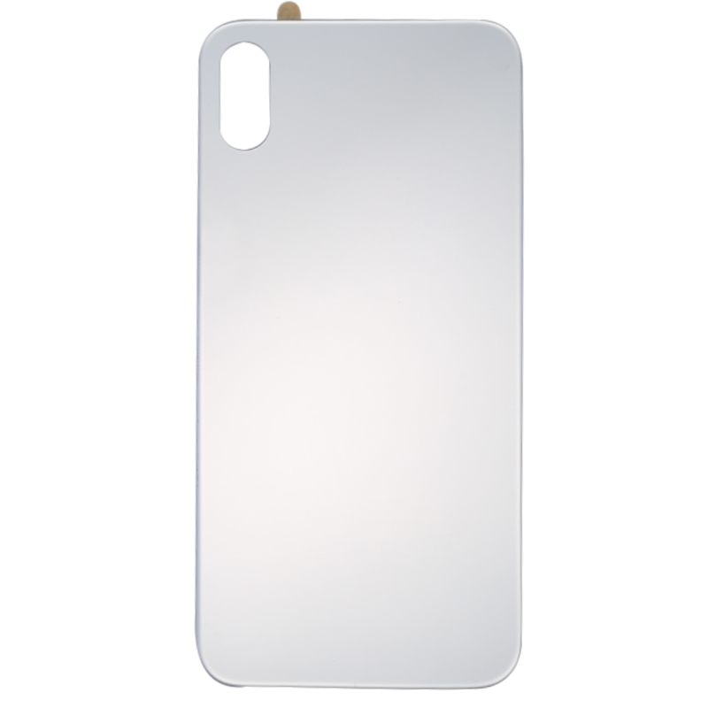 cheap for discount 5c0c0 d408a Replacement for iPhone X Glass Mirror Surface Battery Back Cover (Silver)
