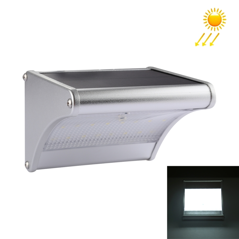 3.5W 24 LEDs SMD 2835 450 LM White Light IP65 Waterproof Outdoor Energy Saving Microwave Radar Motion Sensor Solar Light with 5V 1.5W Solar Panel
