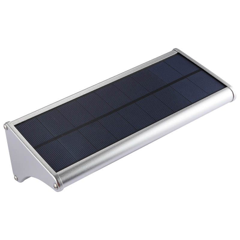 6W 48 LEDs SMD 2835 900 LM White Light IP65 Waterproof Outdoor Energy Saving Microwave Radar Motion Sensor Solar Light with 5V 3.2W Solar Panel