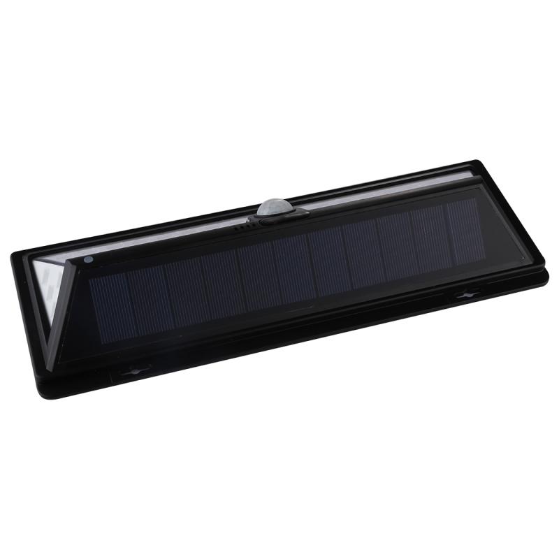 66 LEDs SMD 2835 White Light IP65 Waterproof Energy Saving PIR Motion Sensor Solar Light with 5.5V 1.55W Solar Panel for Garden, Yard, Park, Road