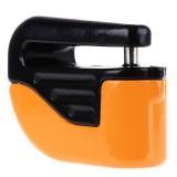 Bicycle Lock Theft-proof Small Alarm Lock Disc Brakes (Orange)