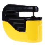 Bicycle Lock Theft-proof Small Alarm Lock Disc Brakes (Yellow)