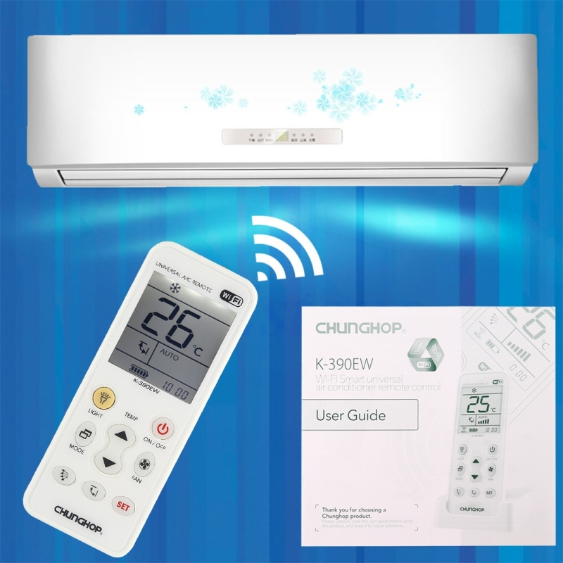Chunghop K 390ew Wifi Smart Universal Air Conditioner A C