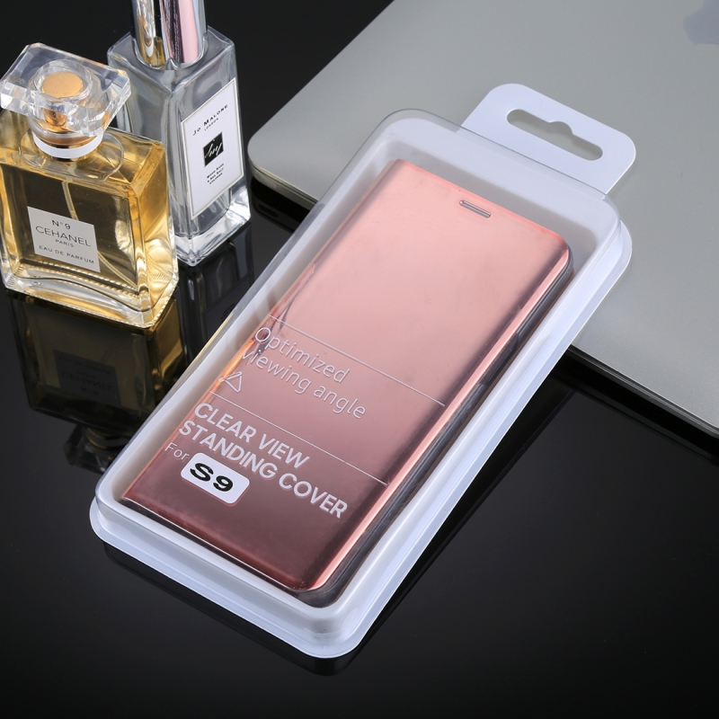 info for c01a6 6daac For Samsung Galaxy S9 PU Electroplating Mirror Horizontal Flip Leather Case  with Holder (Rose Gold)
