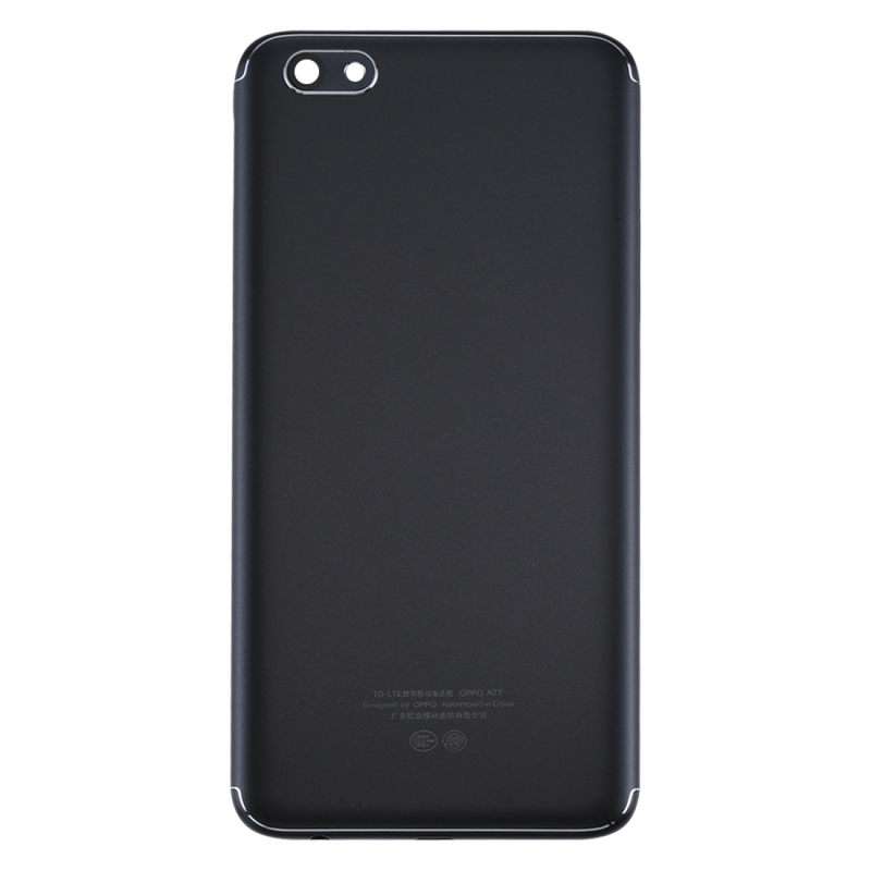 save off 1bca1 a33b2 Replacement OPPO A77 Back Cover (Black) | Alexnld.com