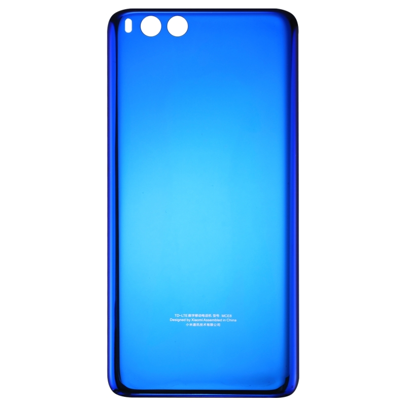 pretty nice b1d7c 5cf3e Replacement Xiaomi Mi Note 3 Original Battery Back Cover with Adhesive  (Blue)