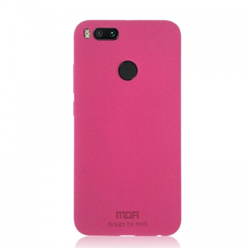 MOFI Xiaomi Mi 5X Ultra-thin TPU Soft Frosted Protective Back Cover Case (Pink)