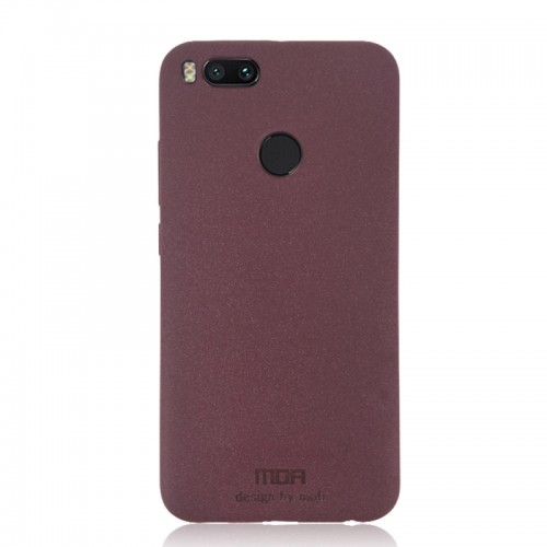 MOFI Xiaomi Mi 5X Ultra-thin TPU Soft Frosted Protective Back Cover Case (Wine Red)