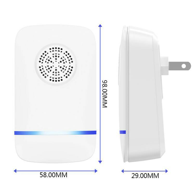 Multifunction Ultrasonic Pest Control Repeller Electronic Pest Control Repel Mouse Bed Bugs Mosquitoes Roaches Killer Non-toxic Eco-Friendly Human & Pet Safe Home Indoor