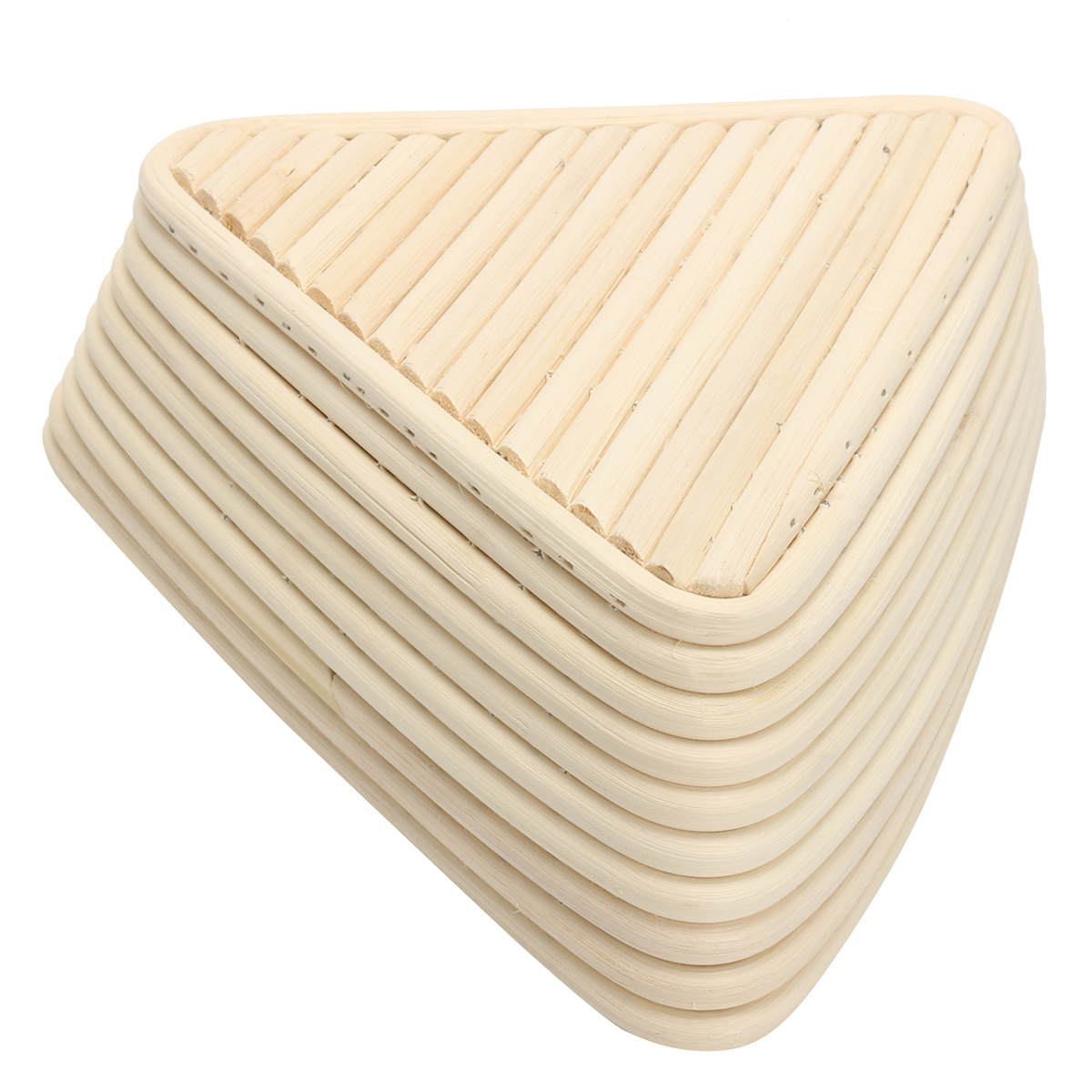 Triangle Banneton Brotform Rattan Basket Bread Dough Proofing Rising Loaf Proving 3 Sizes