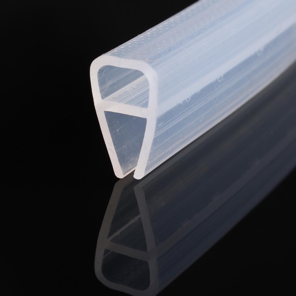 2m Shower Screen Seal Strip Plastic Rubber For Bath Room Door Window