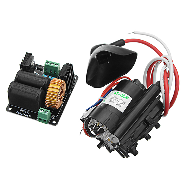 DC 12-36V 10A 300W ZVS Tesla Coil High Voltage Genrator Driver Board  Discharge Flyback Genrator Module Long Arc Ignition Coil For SGTC/Marx