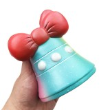 Squishy Fun Jingle Bell Jumbo 12cm Christmas Gift Decor Collection Slow Rising With Packaging Toy