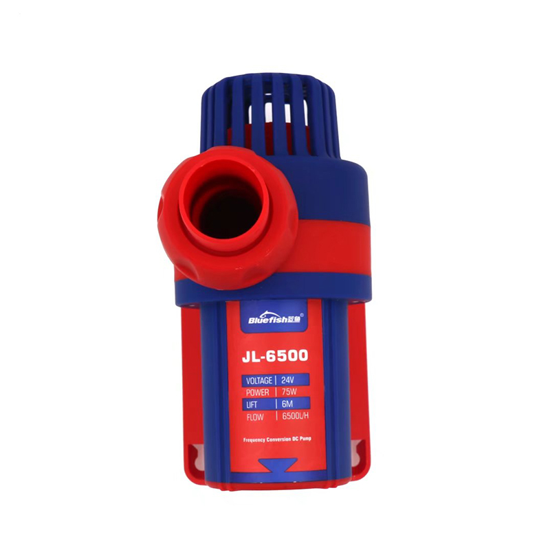 Bluefish JL-6500 Aquarium Water Pump DC 24V Submersible Brushless Pump For Pond Fish Fountain Garden House Water Hydroponic