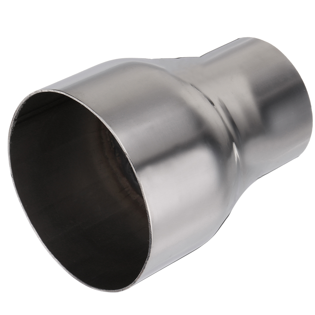 """2/"""" OD to 3/"""" OD Exhaust Pipe Connector Adapter Reducer 304 Stainless Steel"""
